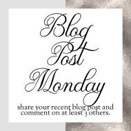 Blog Post Monday