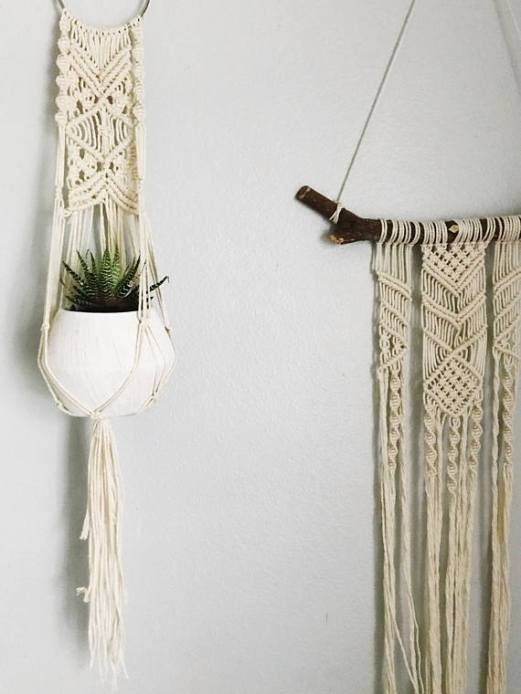 Macrame holder - etsy