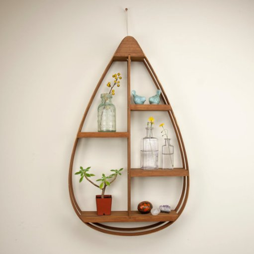 Tear Drop Shelf - etsy
