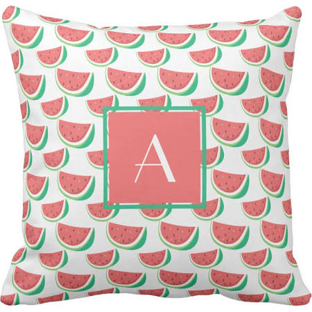 Watermelon pillow - zazzle